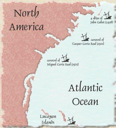 North America shipwrecks